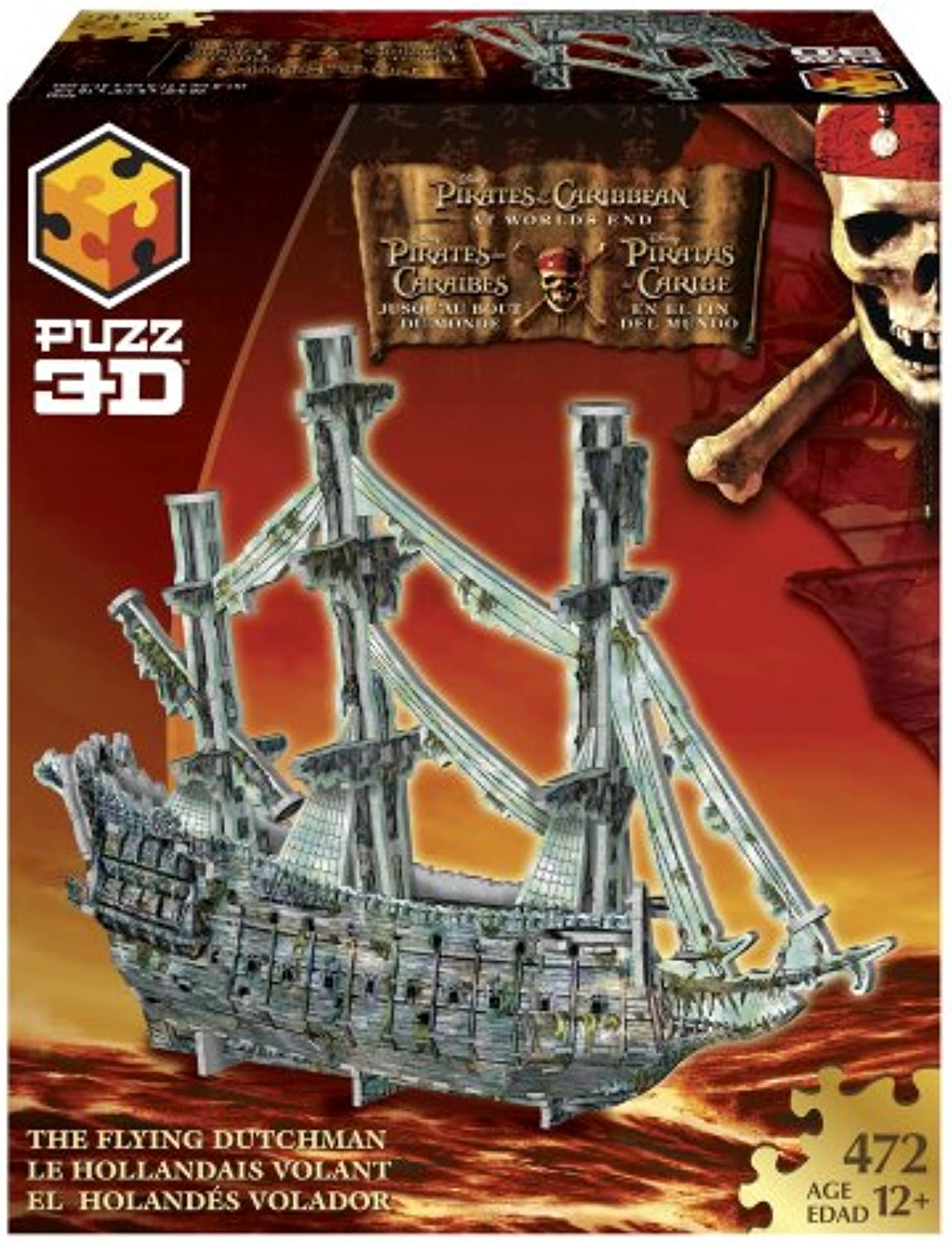 PUZZ 3D Pirates of the Caribbean 3  Flying Dutchman