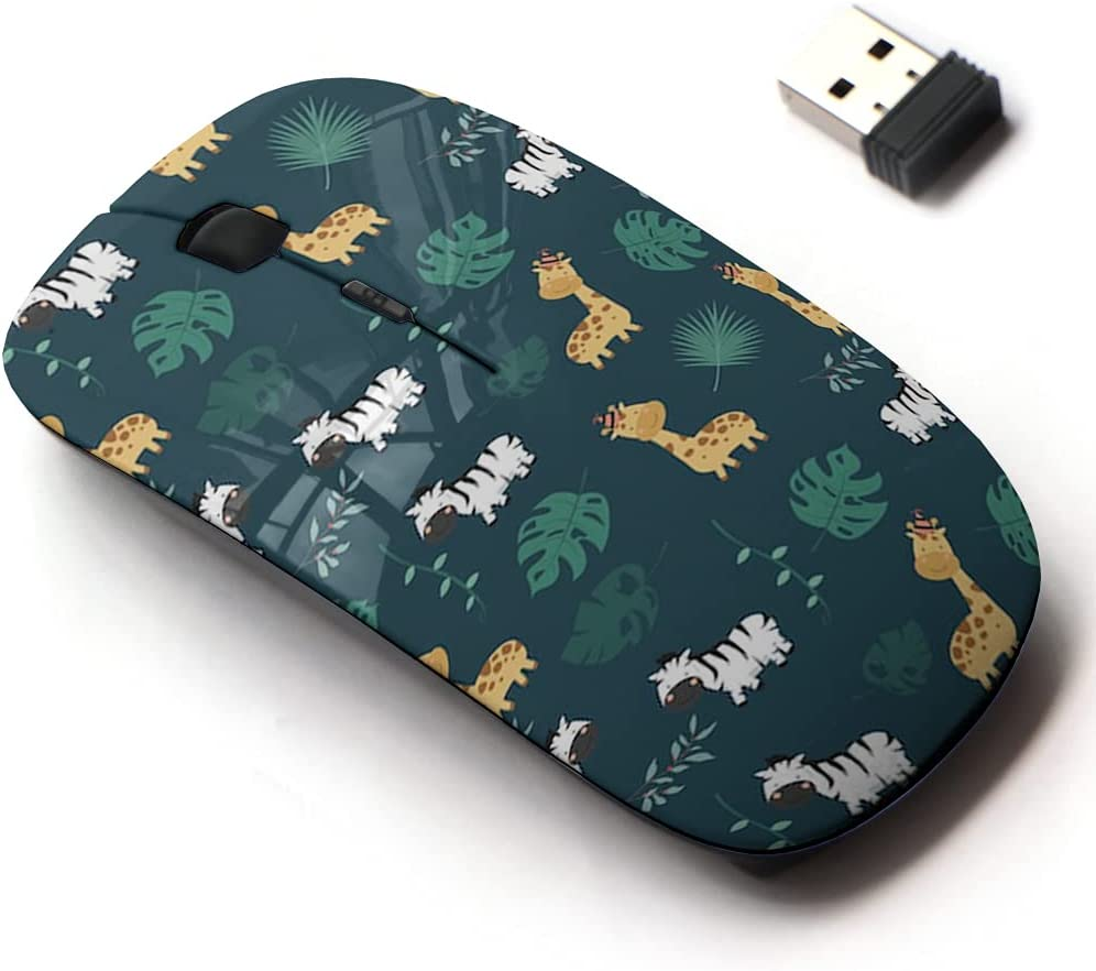 Max 87% OFF 2.4G Japan Maker New Wireless Mouse with Cute Pattern for All and Design Laptops