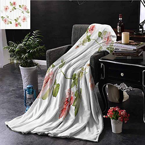 GGACEN digitale druk deken hand getekend sier horizontale patroon traditionele Paisley op vintage achtergrond gewogen voor volwassenen kinderen, beter diepere slaap