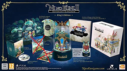 JAPAN OFFICIAL Ni No Kuni II King's Edition Collector PS4 No Videogioco No Season Pass #1