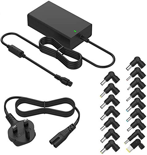 Newding 90w Universal Laptop Charger Power Adapter for Hp Compaq Dell Acer Asus Toshiba IBM Lenovo Samsung Sony Fujitsu Gateway Notebook Ultrabook and More(16 Tips)