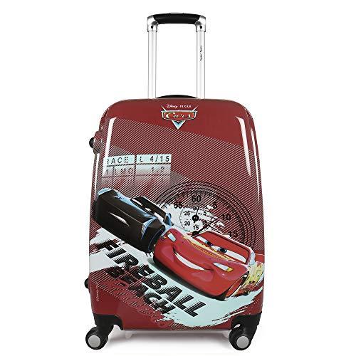 Humty Dumty Disney Pixar Cars Red Polycarbonate 18 Inch / 45.7 cm Kids Hard Luggage Trolley Bag | Travel Bag