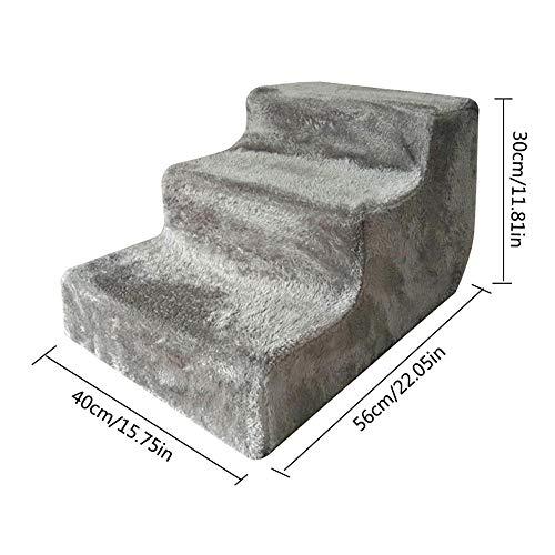 Scale per cani di grossa taglia Scaletta per scalino per bambini Striscia di arrampicata lavabile rimovibile Scaletta di allenamento a tre strati Gioco Step Divano letto