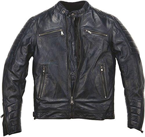 Helstons Motorradjacke, Blau, Größe XL