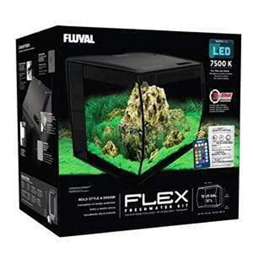 Fluval 14996 Flex Aquarien 123l Weiß