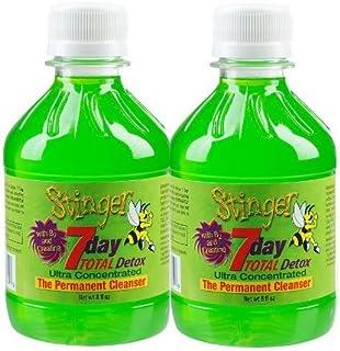 2 Stinger 7 Day Permanent Detox 2-1 Week bottles 8oz each w/ 2 Free 6 Panel Drug Tests(mAMP/THC/OXY/COC/OPI/BZO)