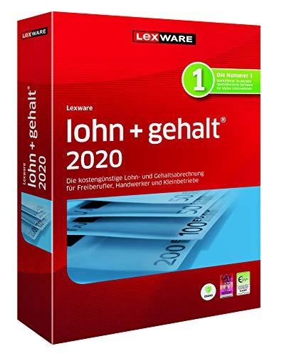 Lexware lohn+gehalt 2020|basis-Version Minibox (Jahreslizenz)|Einfache Lohn- und Gehaltsabrechnungs-Software für Freiberufler, Handwerker und Kleinbetriebe