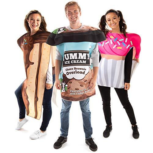 Cake, Ice Cream & Cupcake Group Costume - Cute Junk Food Halloween Outfits