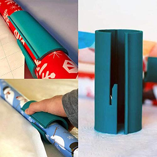 Christmas Wrapping Paper Cutter Newest, Office Home Tools Xmas Gifts Baubles, Gift Wrapping Paper Cutting Tool (1 pc)
