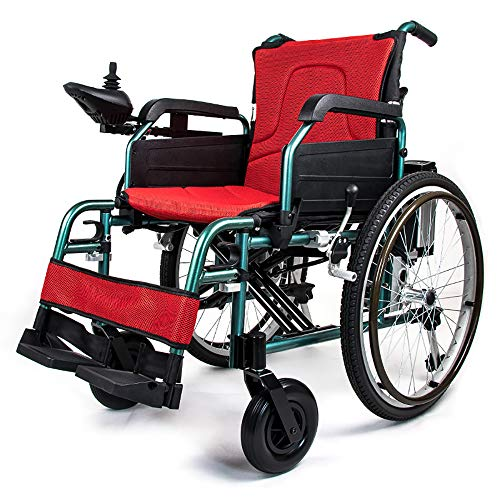 Great Features Of FACAI Electric Wheelchair Power Walker Powerchair Electric Wheelchair Lightweight ...
