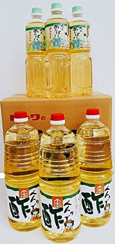 トキワべんりで酢1.8L・マルナカ ええあんばい酢1L【味くらべ】各 3本  TN-6B