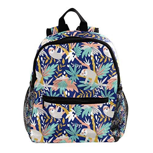 Mochila escolar para niños, mochila escolar, diseño de erizo, color blanco