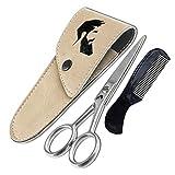 Ontaki German Steel Beard Moustache Scissors