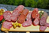Fortuna's Italian Sausage Sampler, 5 Sticks of Authentic Dry Cured Gluten Free, Nitrate Free Salami Sausages, 6-14...
