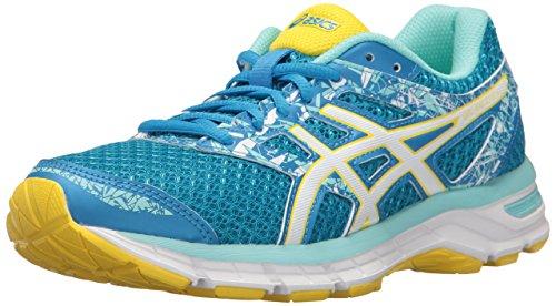 Asics Gel-Excite 4, Chaussures de Runnning d'entraînement pour femme - Bleu - Diva Blue White Sun, 40 B(M) EU