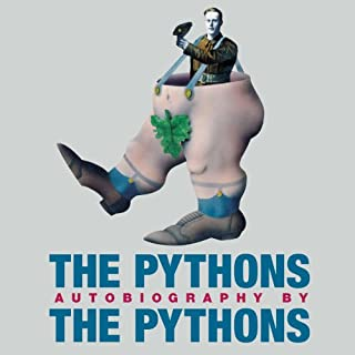 The Pythons audiobook cover art