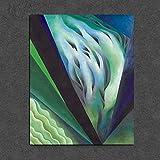 KWzEQ Pintura Georgiana sobre Lienzo Sala de Estar decoración del hogar Moderno Arte de la Pared Pintura al óleo póster,Pintura sin Marco,60x75cm