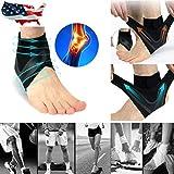 Best Achilles Tendon Supports - BXzhiri Ankle Brace for Men & Women, Breathable Review