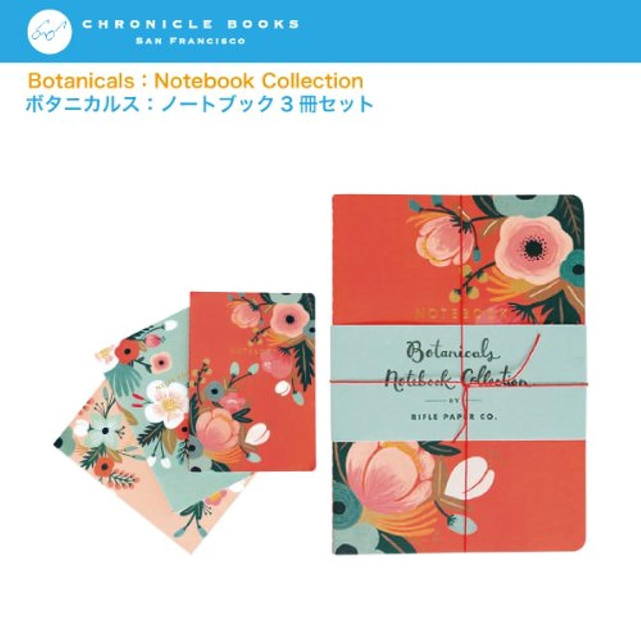 スペイン語盆ガイダンスクロニクルブックス ボタニカルス ノートブック3冊セット