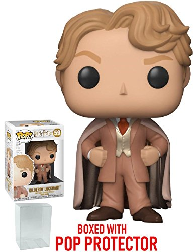 Funko Pop! Movies: Harry Potter - Gilderoy Lockhart Vinyl Figure (Bundled with Pop Box Protector Case) image