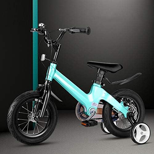 hasta un 60% de descuento Q&J Aleación Aleación Aleación de magnesio Altura Ajustable Bicicleta para Niños Bicicleta de niña, Manillar y Silla de Montar Ajustable en Altura, Ruedas de Apoyo extraíbles  comprar nuevo barato