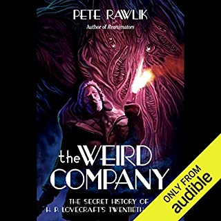 The Weird Company audiobook cover art