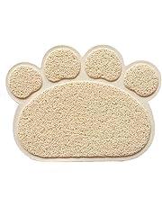 TUYU Alfombra de PVC para gatos, antideslizante, alfombrilla para bandeja de basura impermeable, para gatos, perros y cachorros TYDC306