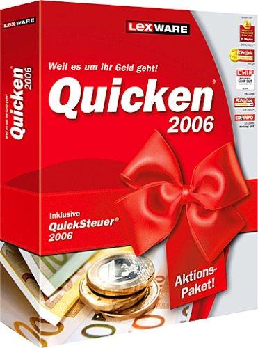 Quicken 2006 Regular Vorteilsedition (inkl.QuickSteuer 2006) (V 13.0)