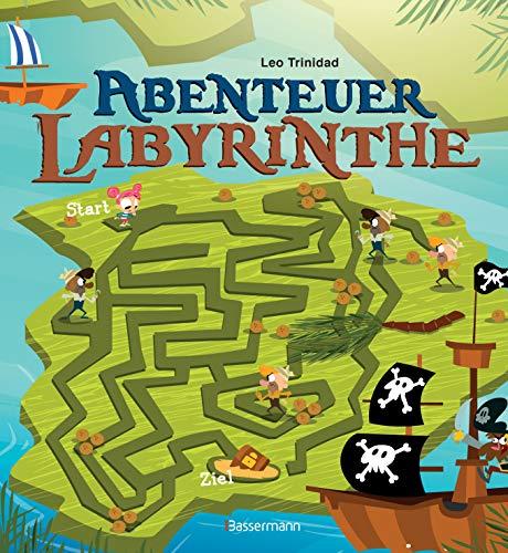 Abenteuer-Labyrinthe. Bunt und spannend.: Ab 6 Jahren