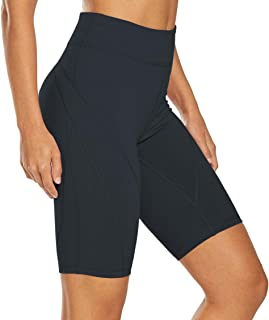 Bestisun Women's Mini Hidden Waistband Pocket Soft Sport Active Legging Yoga Pants