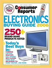 Electronics Buying Guide 2006 (Consumer Reports Electronics Buying Guide)