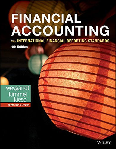 Financial Accounting, With International Accounting Standards, IFRS, 4th edition