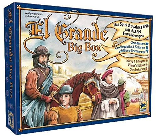 Hans im Glück HIGD1005 EL Grande Big Box Brettspiel