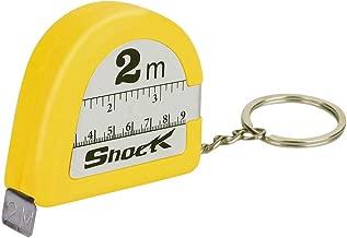 Springdoit Tape Measure Electric Shock Toy Scary Yellow Plastic Tricky Prank