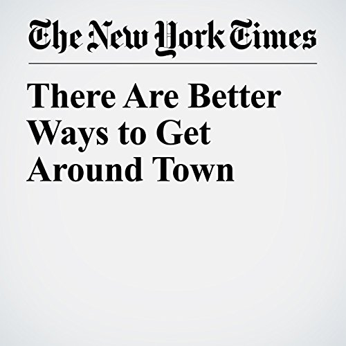 There Are Better Ways to Get Around Town copertina