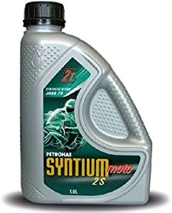 Petronas Syntium Moto Motorcycle Motorbike 2-Stroke Oil Litre