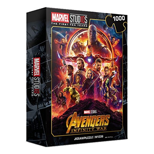 1000Piece Jigsaw Puzzle Marvel Avengers Infinity War 10th Edition II