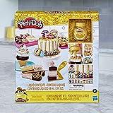 Play-Doh Bakery - Arcilla para modelar - Pasteles Dorados