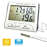 DIGITAL SERIES - Termometro Igrometro Digitale Temperatura Umidita Per Casa Interno Esterno Sonda