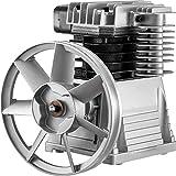 VEVOR Compresor Compactadoras Agregado 2,2kW - 3kW Cabezal de la Bomba del Compresor de Aire 1300rpm Cabezal de Compresor de Aire de Material de Aluminio para Industrias Químicas Electrónicas Textiles