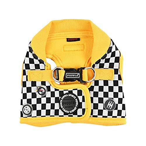 Pinkaholic New York Ursa Leas, Puppia Racer, Geschirr B, Extra, gelb