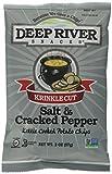 Deep River Snacks Salt and Pepper Kettle Chips, 24 Count