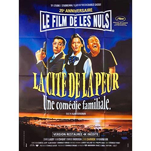 LA CITE DE LA PEUR 25 ANS Affiche de film - 120x160 cm. - 2019 - Les Nuls, Alain Berbérian