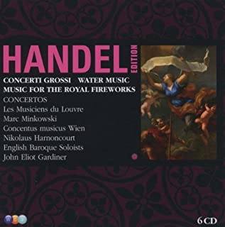 Concerti Grossi / Water Music / Music for Royal by G. F. HAENDEL (2009-02-17)
