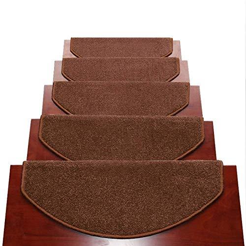 LILIS Tappeti per Scale Coprigradini per Scale Tappeti per Scalini Scale Autoadesiva Tappeto Pedate Pads Mats Non Slip Scale Ottomans, 12mm, 5 Dimensioni, 2 Colori, 2 Stili