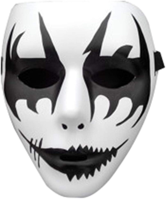 NUOKAI Halloween Ghost Dance Mask Handgemalte Fluoreszierende Street Dance Show B07HKZGT6B Moderner Modus  | Einfach zu spielen, freies Leben