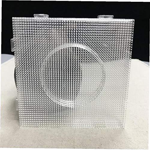 Yililay Cuentas de tableros, 4PCS 2.6mm Mini Granos del Fusible Hama Beads Transparente Big Square tableros Juntas Plantilla Material Perler Beads Pared Perforada artkal