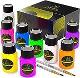 Chiltern Arts Neon-Acrylfarben, Set mit 6 Farben