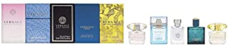 Versace Mini de perfume Juego 5 x 5 ml (1 x Man Eau Fraiche 1 x Signature 1 x Bright Crystal 1 x Yellow Diamonds y 1 x ...