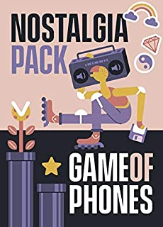 Game of Phones Nostalgia Mini Pack [A Blast from The Past Expansion to The Original Modern Party Game]
